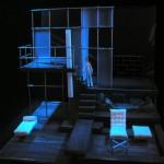 Ακαδημ. έτος 2012-2013.Σκηνικό του Jan Pappelbaum για το Κουκλόσπιτο, σκηνοθεσία Thomas Ostermeier, Shaubühne 2002. Φοιτήτρια: Λήδα Σιμώτα-Ελ Τζαγιούζι