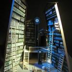 Ακαδημ. έτος 2009-2010. Σκηνικό του Ruodi Bart, για την όπερα Υπόθεση Μακρόπουλος του Janáček, σκηνοθεσία Walter Paul, Βισμπάντεν 1961. Φοιτήτρια: Χαρά Αργυρούδη